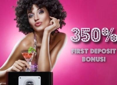 350% First Deposit Bingo Bonus