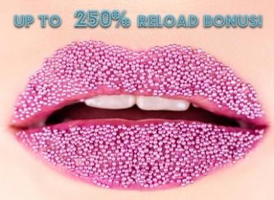 250% Reload Bonus