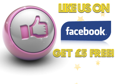 5 Free Bingo Bonus - Facebook Like