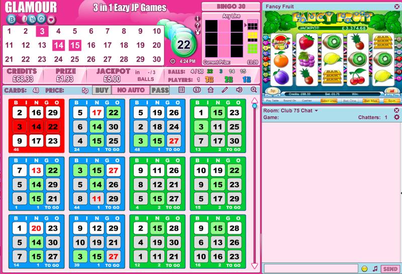 30 ball bingo cards