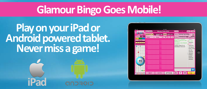 Glamour Bingo Mobile